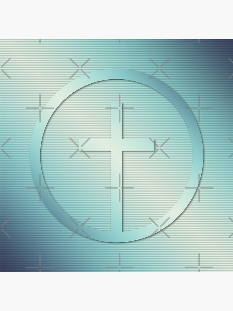 Retro Cross Emblem Graphic by morningdance