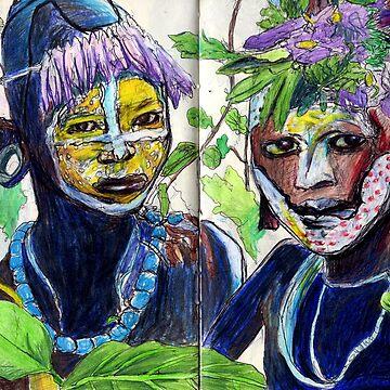 Lefa Children by JayGolding