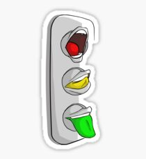 Traffic Lips Sticker