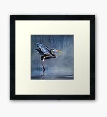 Leaving The Lake Framed Print