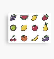 Fruit Collection Canvas Print