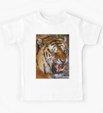 Siberian Tiger roar Kids Tee