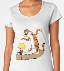 Calvin & Hobbes  Women's Premium T-Shirt