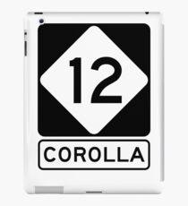 NC 12 - Corolla the beautiful Outer Banks iPad Case/Skin
