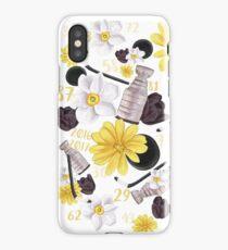 Floral Pittsburgh Penguins Design iPhone Case/Skin