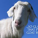So Glad I've Goat You by LoobyLu