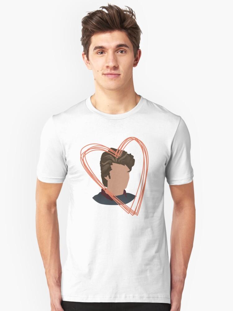 I <3 Steve  Unisex T-Shirt Front