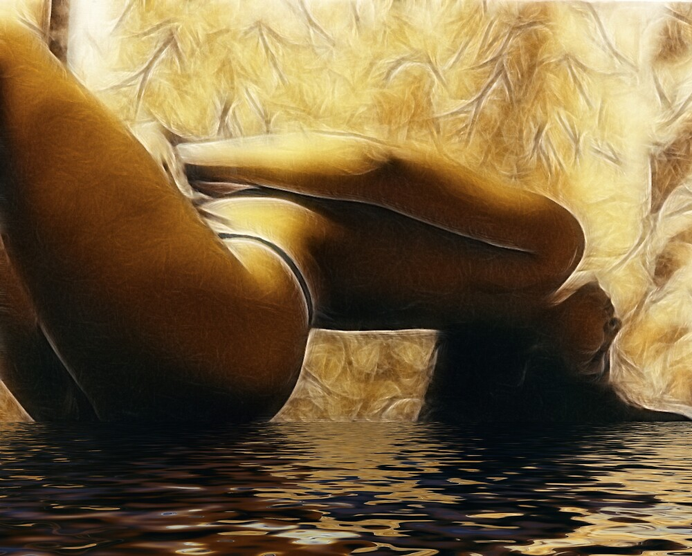 nude in water by mooreno