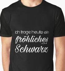 Happy black Graphic T-Shirt