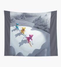 Back Country Bears 5 x 7 Wall Tapestry