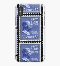 Theodore Roosevelt stamp iPhone Case