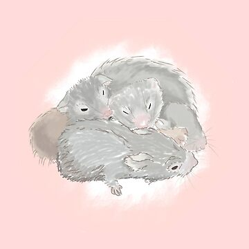 A SNUGGLE OF HAMMYS by thechillmethod