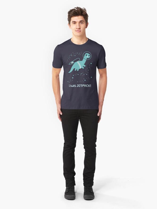 Alternative Ansicht von Ich habe Jetpack! Slim Fit T-Shirt