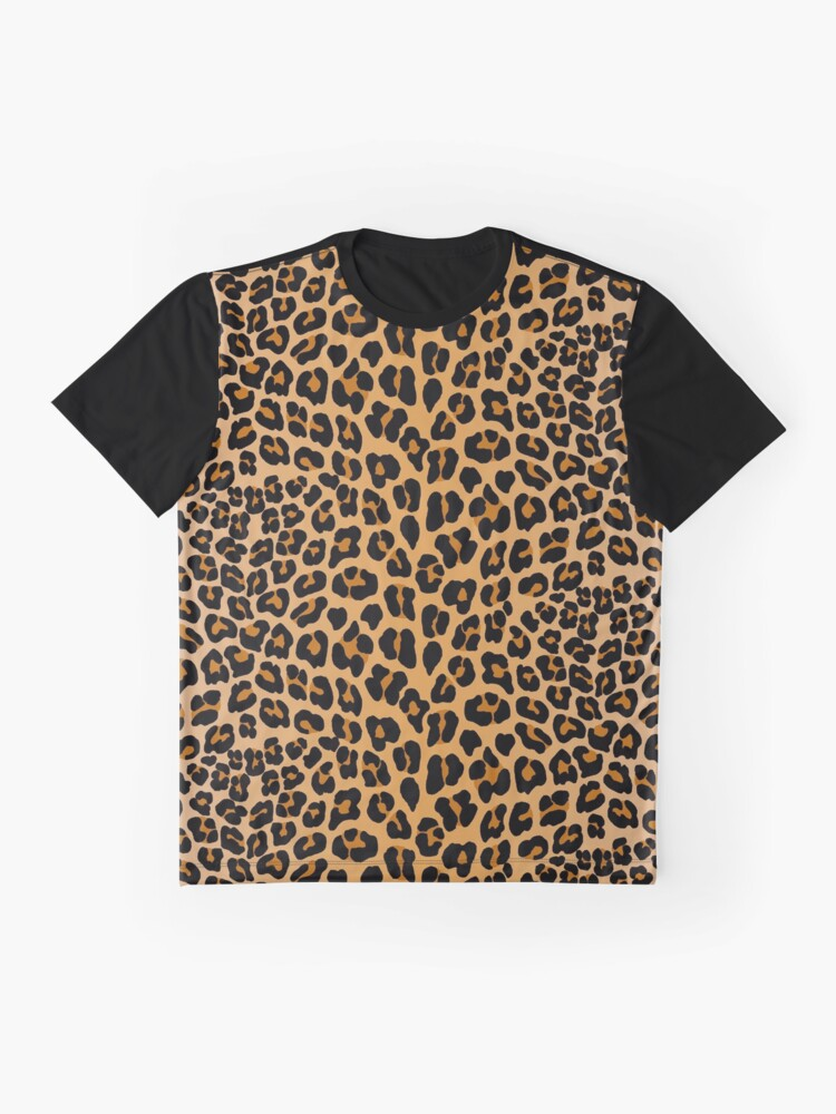 Alternate view of Leopard print Graphic T-Shirt
