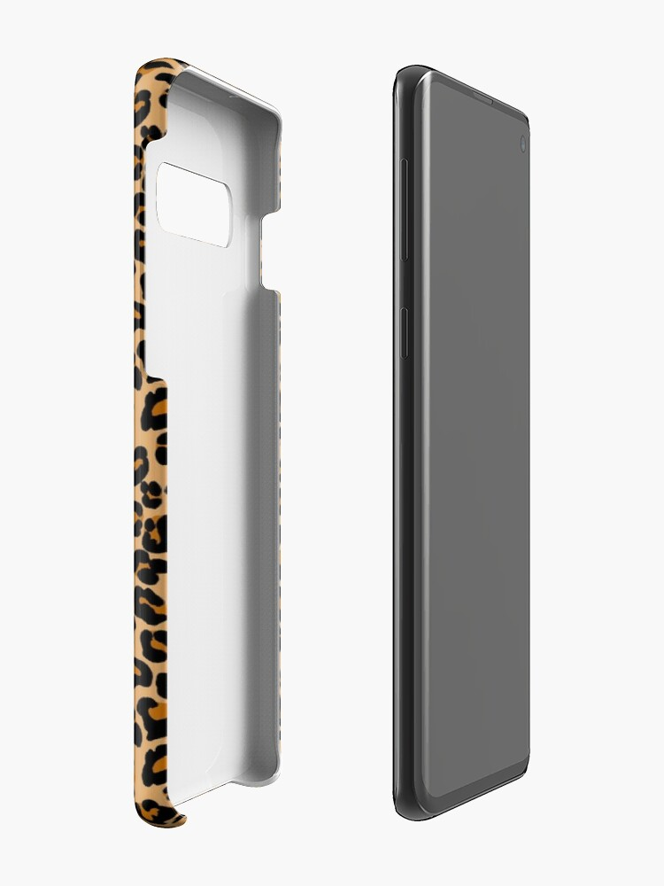 Alternate view of Leopard print Case & Skin for Samsung Galaxy
