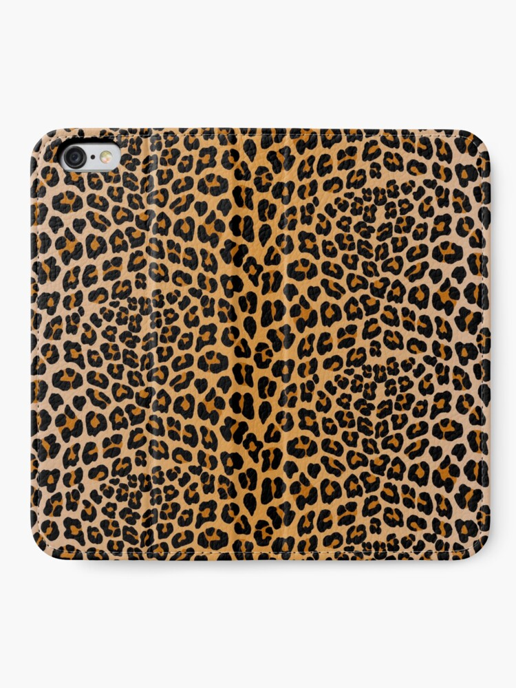 Alternate view of Leopard print iPhone Wallet