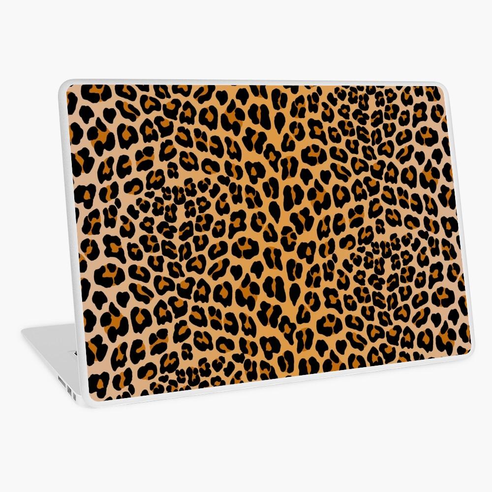 Leopardenmuster Laptop Folie