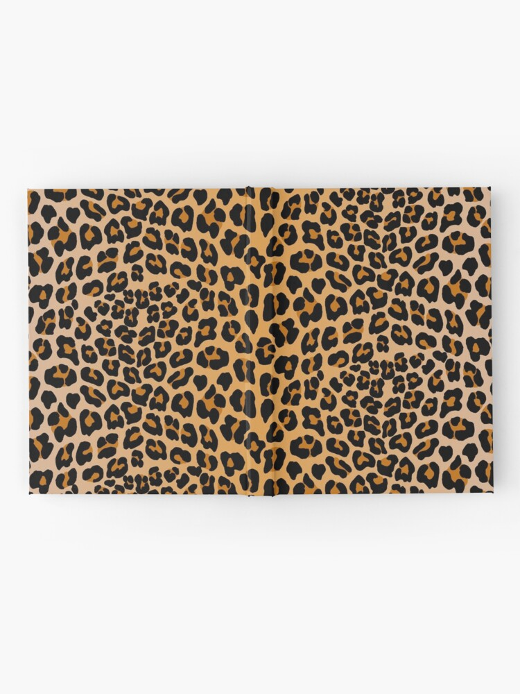 Alternate view of Leopard print Hardcover Journal