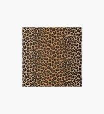 Leopard print Art Board Print
