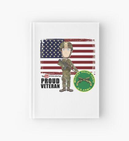 Proud Veteran- MP Hardcover Journal