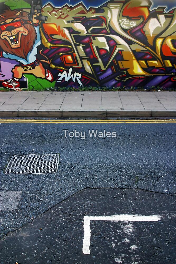 graffiti by Toby Wales
