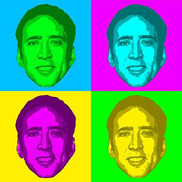Nicolas Cage Pop ART by Greenland12