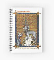 Illuminated New Testaments Revelations Spiral Notebook