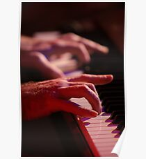 hands / Liam O'Maonlai / Hothouse Flowers Poster