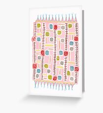magic bathmat Greeting Card