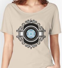 Pop Culture Elegant Graphic Women's Relaxed Fit T-Shirt