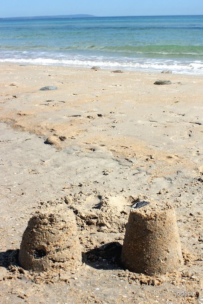 Castles in the sand by Jodi Webb