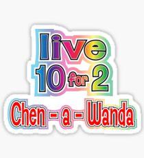 Chen-a-wanda Sticker