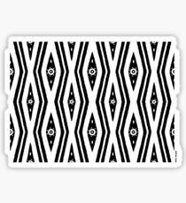 Bardi dancers / Back In Black - 2 Sticker