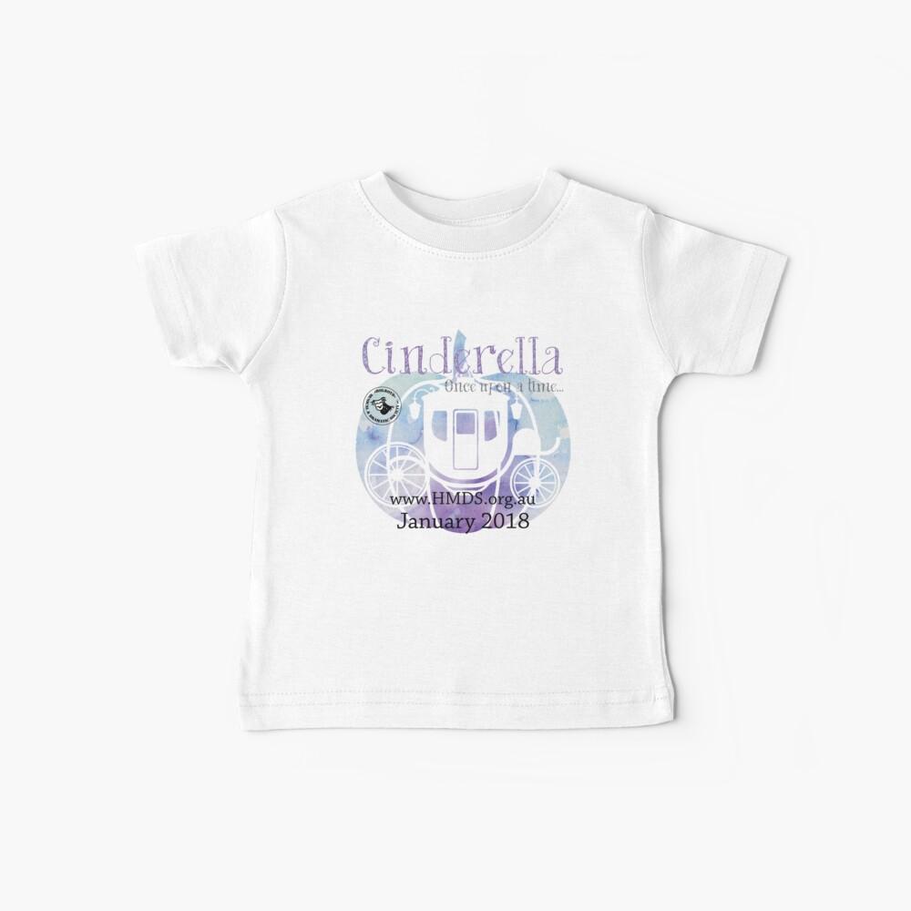 Cinderella - Holroyd Musical & Dramatische Gesellschaft Baby T-Shirt