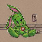 Recharging the FrankenBunny Monster by justteejay