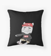 Born to Learn Throw Pillow