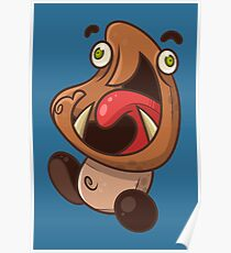 Excited Goomba Poster