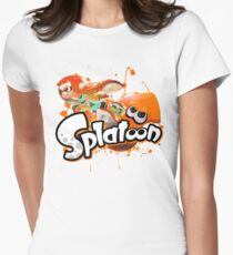 Splatoon - Inkling  Womens Fitted T-Shirt