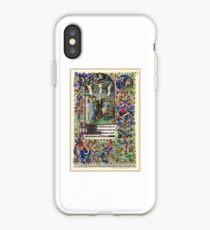 Illuminated New Testaments Christ's Crucifixion iPhone Case