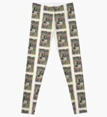 Illuminated New Testaments Christ's Crucifixion Leggings