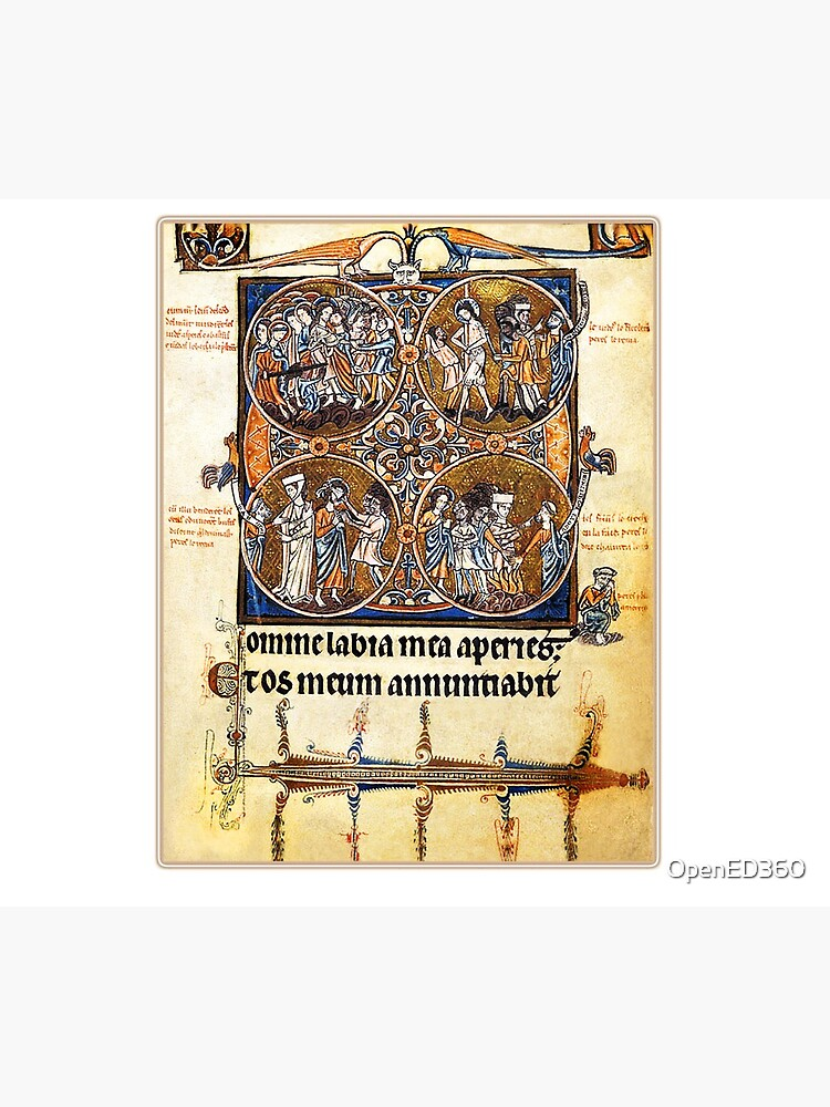 Illuminated New Testaments Judgment of Christ by OpenED360