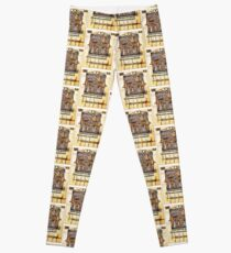 Illuminated New Testaments Judgment of Christ Leggings