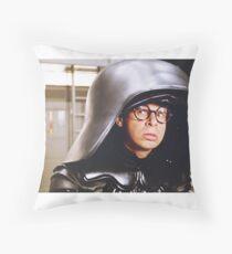 Dark Helmet Throw Pillow