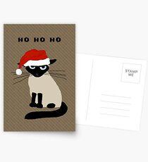 Siamese Santa Postcards