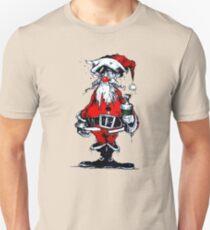 Vintage Drunken Santa Claus T-Shirt