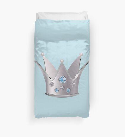 Silberne Krone 2 Bettbezug