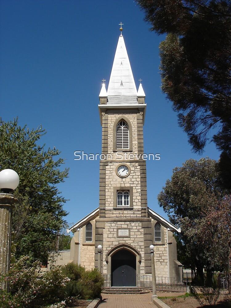 Church at Tanunda by Sharon Stevens