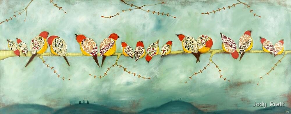 Many birds by Jody  Pratt