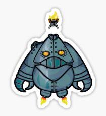 freaky robots Sticker