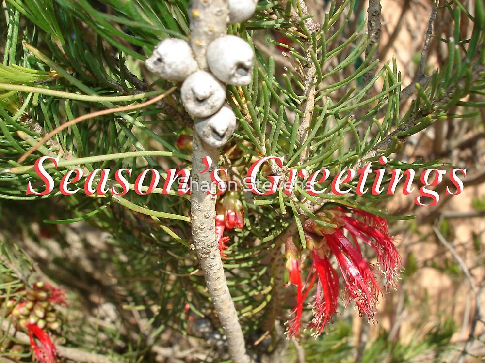 Season's Greetings by Sharon Stevens